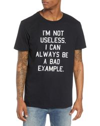 The Rail - Bad Example Graphic T-shirt - Lyst