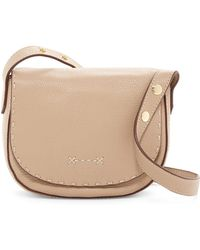 Elizabeth and James - Zoe Mini Leather Saddle Bag - Lyst