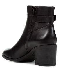 Geox Washeel Buckle Boot - Black