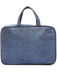 Kestrel - Artisan Shade Solid Weekend Bag - Blue - Lyst
