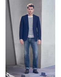 Citizens of Humanity 'sid' Straight Leg Jeans - Blue