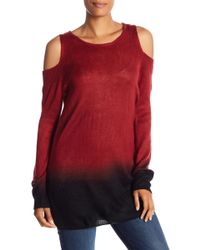 Vince Camuto - Cold Shoulder Ombre Sweater - Lyst