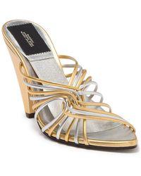 Marc Jacobs Fifty-four Mule Metallic Sandal