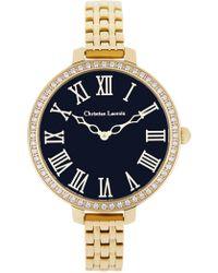 Christian Lacroix - Women's Signature Crystal Bracelet Watch, 38mm - Lyst