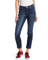 True Religion | Colette High Rise Tapered Skinny Jeans | Lyst