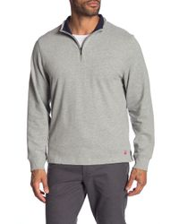 Brooks Brothers - Brushed Jersey Half-zip Pullover - Lyst