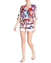 Young Fabulous & Broke | Ashley Patterned Romper | Lyst