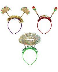 Berry Cinco De Mayo Headband - Green