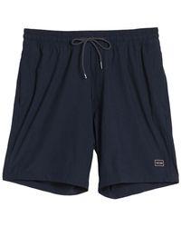 Volcom Sickly Hybrid Shorts - Blue
