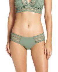 Robin Piccone - 'sophia' Crochet Bikini Bottoms - Lyst