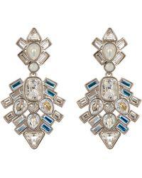 Swarovski - Festivity Crystal Dangle Earrings - Lyst