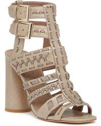 Donald J Pliner - Bindy Leather Sandal - Lyst