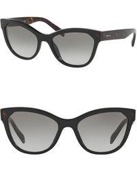 Prada - 56mm Phantos Heritage Sunglasses - Lyst