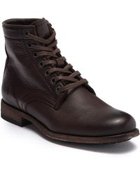 Frye - Tyler Leather Lace Up Boot - Lyst