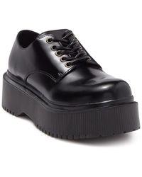 Jeffrey Campbell Lug Sole Platform Loafer - Black