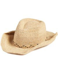 Caslon - Packable Raffia Panama Hat - Lyst