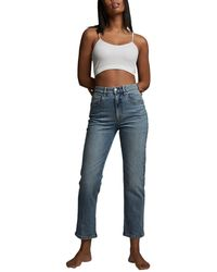Cotton On Straight Stretch Jeans - Blue