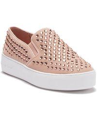 MICHAEL Michael Kors - Trent Slip-on Platform Sneaker - Lyst