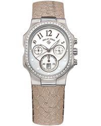 Philip Stein | Women's Large Classic Diamond Quartz Watch, 49mm - 0.82 Ctw | Lyst