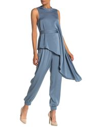 BCBGMAXAZRIA Woven Long Pants - Blue