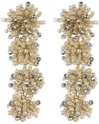 BaubleBar - Ria Beaded Drop Earrings - Lyst
