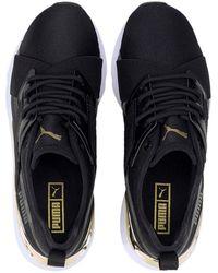 PUMA Muse X-2 Metallic Sneaker - Black