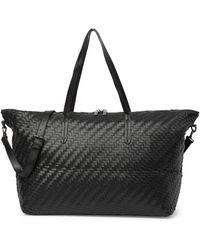 Deux Lux - Dey Woven Weekend Bag - Lyst