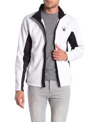 Spyder Constant Full Zip Jacket - White