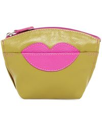 ILI - Lips Leather Coin Purse - Lyst