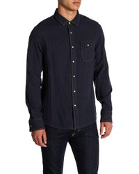Jeremiah - Chase Melange Button Reversible Regular Fit Shirt - Lyst