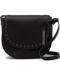 Vince Camuto - Amiah Leather Flap Crossbody Bag - Lyst