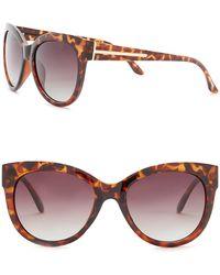 Steve Madden - Women's Polarized Cat Eye Sunglasses - Lyst