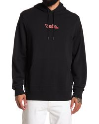 Ovadia And Sons Electric Logo Drawstring Hoodie - Black