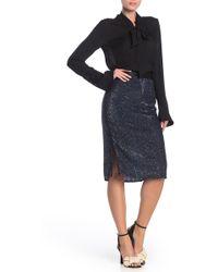 Joie - Miltona Sequined Pencil Skirt - Lyst