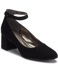 c26e12cd695 Lyst - Earthies Meredith Mary Jane Pump - Wide Width Available in Black