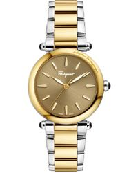Ferragamo - Women's Idillio Swiss Quartz Two-tone Bracelet Watch, 34mm - Lyst