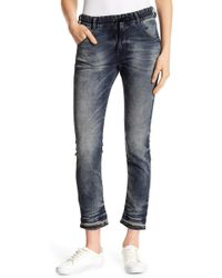DIESEL - Krailey Stretch Sweat Jeans - Lyst