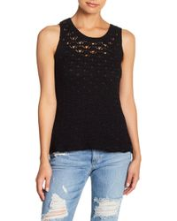 Roxy - Coral Crush Knitted Tank - Lyst