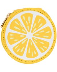 MIAMICA - Lemon Round Pill Case - Lyst