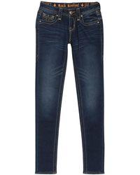 Rock Revival Jegging Skinny Jeans - Blue