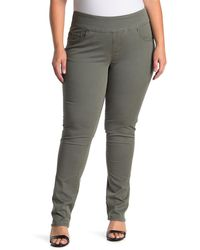 Jag Jeans Peri High Rise Straight Jean - Gray