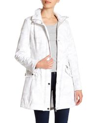 Guess - Lace-up Hooded Jacket - Lyst