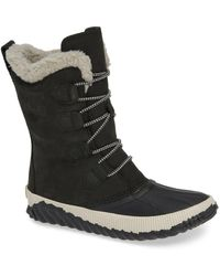 Sorel Out 'n About Plus Tall Boots - Black