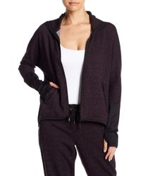 Warrior by Danica Patrick Active - Static Terry Hi-lo Jacket - Lyst