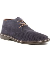 Kenneth Cole Reaction - Desert Hill Perforated Chukka Boot - Lyst