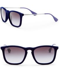 Ray-Ban - Chris Youngster 54mm Square Sunglasses - Lyst
