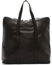 AllSaints | Toguri Cow Leather Holdall Bag | Lyst