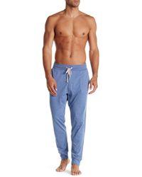 Tommy Bahama Heathered Lounge Pant - Blue