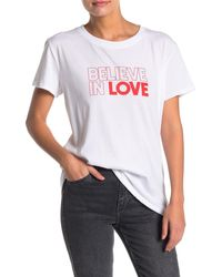 Sub_Urban Riot Believe In Love Loose T-shirt - White