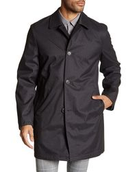 Hart Schaffner Marx Reversible Raincoat - Brown